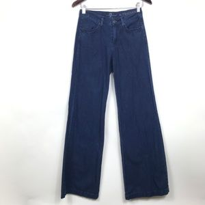 7 for All Mankind Size 26 Jeans Blue The Trouser